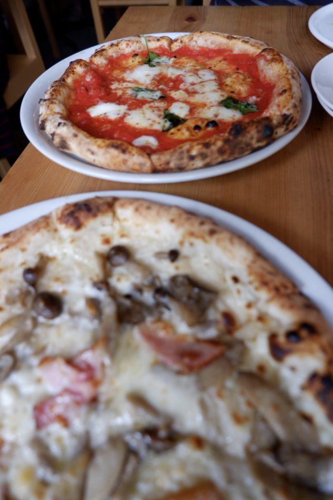 絶品薪窯ピザ